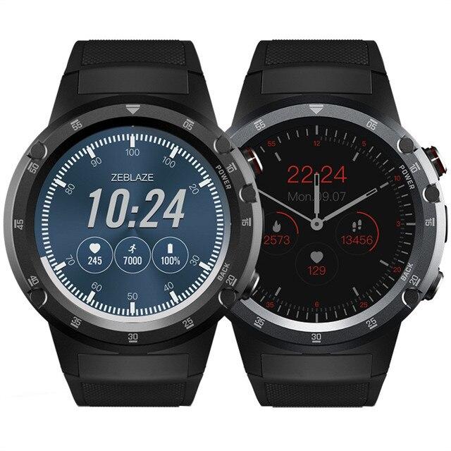 251f1055056 Zeblaze THOR4 ALÉM de Esportes Homens Smartwatch Telefone Do Relógio  Inteligente PARA iOS Android Bluetooth GPS 1 + 16 GB Câmera SIM 4G  Capacitiva