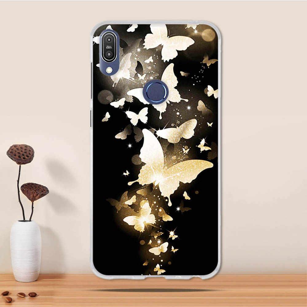 Для Asus Zenfone Max Pro M1 случае мягкая силиконовая Обложка из материала TPU чехол для телефона для Asus Zenfone Max Pro M1 ZB601KL ZB602KL случае принципиально Coque