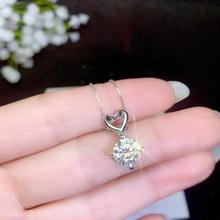 real  moissanite   Super popular styles, necklaces, ladiesparty play. 925 pure silver