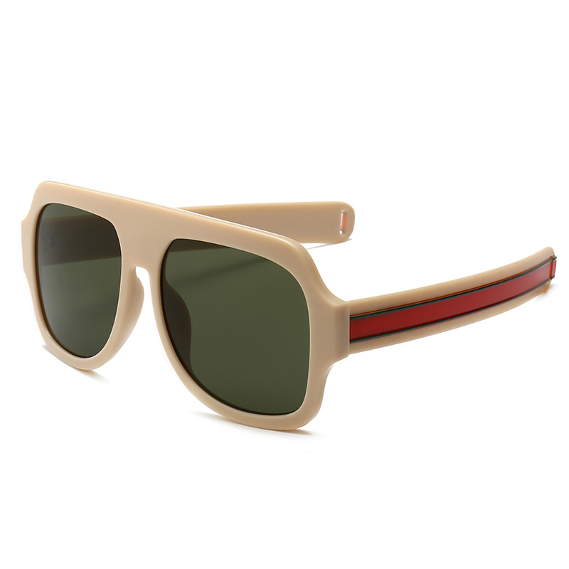 e53d6560a0b Big Oversized Sunglasses Man Woman Yellow Mens Sunglasses for Men Women  Retro Plastic Sun glasses Pink ...