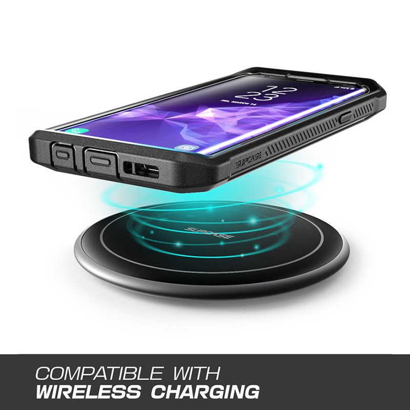 SUPCASE do etui Samsung Galaxy S9 Plus UB Pro futerał ochronny na cały korpus z wbudowaną osłoną ekranu