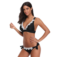 Women 2018 Plus Size Bikini Set Brazilian Push Up Women High Waist Swimwear Big Chest Swimsuit
