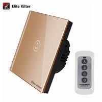 Elite Kilter EU UK Standard Doorbell Remote Control Switch 1 Gang 1 Way Smart Wall Button