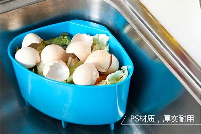 aliexpress : küche waschbecken mülleimer ecke ablaufkorb küche