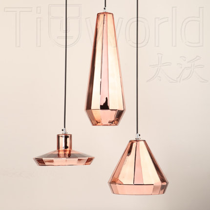Nordic modern small glass chandeliers loft living room restaurant nordic modern small glass chandeliers loft living room restaurant bar lamps vintage industry rose gold corridor lights cinnamon in pendant lights from aloadofball Gallery