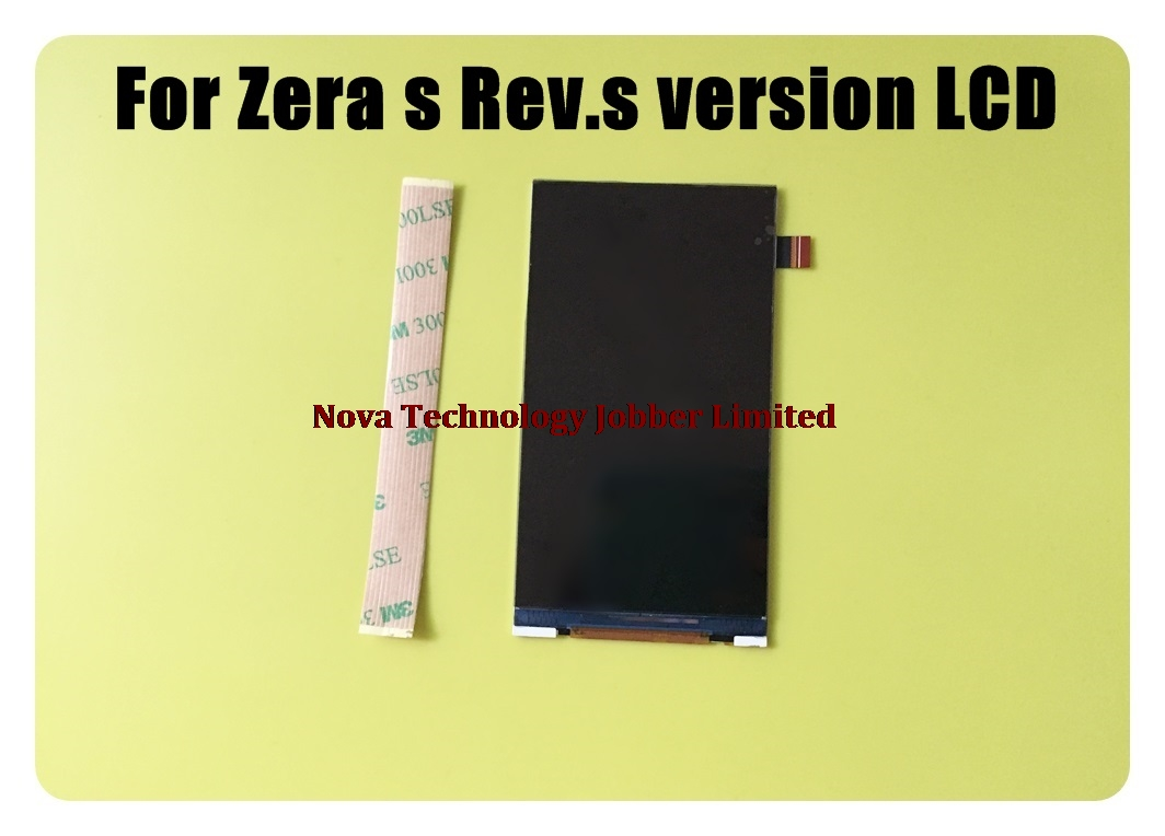 Wyieno For Highscreen Zera S rev.S LCD Display Screen Replacement Parts NOT Sensor Panel ; With Tracking Number