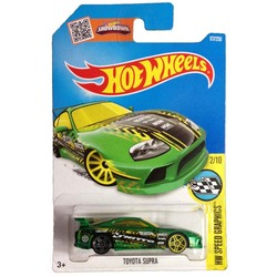 Hot Wheels 1:64 Car 2016 TOYOTA SUPRA Collector Edition Metal Diecast Cars Collection Kids Toys Vehicle For Gift