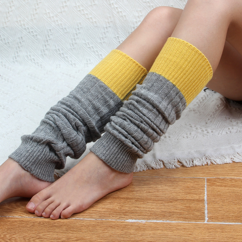 Underwear & Sleepwears Retro Patchwork Knit Leg Warmers Crochet Leg Wearing Boots Sucks Cashmere Cozy Gaiters Boots Women Winter Warm 1pair=2pcs