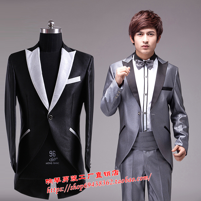 S 3xl 2017 New Fashion Mens Clothing The Host Male Formal Dress