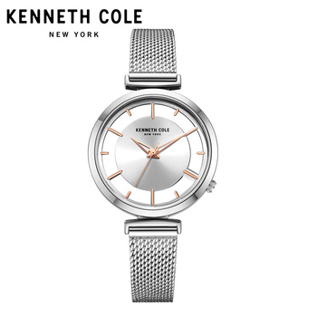 Kenneth Cole 2018 New Arrivals Womens Watches Quartz Steel Gold Silver Strap Bracelet Luxury Brand Watches KC50232004 2
