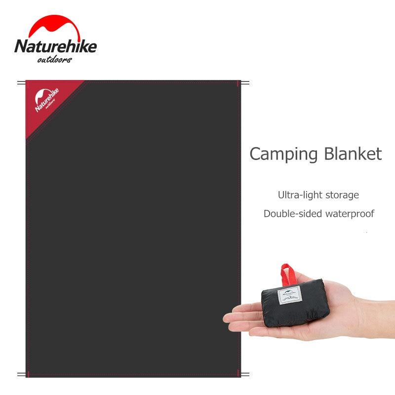 Naturehike Picnic Blanket Lightweight Waterproof Camping Mat Backing Family Concerts Beach Park Grass Ultralight Portable Pad