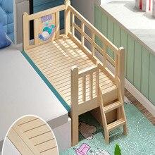 WOOD toddler kids bed lit enfant chambre enfant kids bedroom