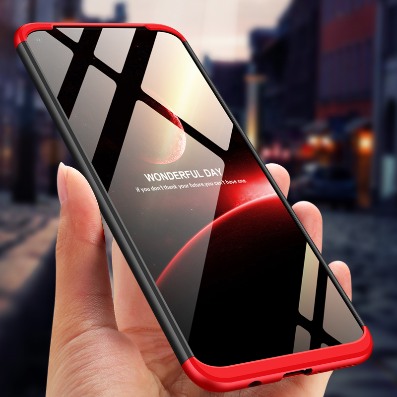 For Huawei Nova 5i Case Nova5i 360 Degree Full Body Cover Case For Huawei Nova 5i Hybrid Shockproof Case + Tempered Glass film