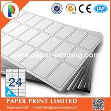 1000 листов, совместимых с L7159/J8159, пустые матовые белые этикетки/печатная бумага для струйного принтера, этикетки формата a4, szie: 63,5X33,9 мм