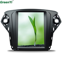 GreenYi Vertical 10.4 Quad Core Android 6.0 2GB RAM Car DVD GPS Navi Radio For Ford Mondeo 2007 2012 Headunit Multimedia Stereo