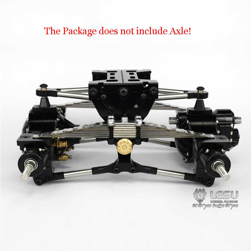 LESU X-8002-A Metal Rear Suspension Assembly Parts For 1//14TAMIYA RC Truck Axles