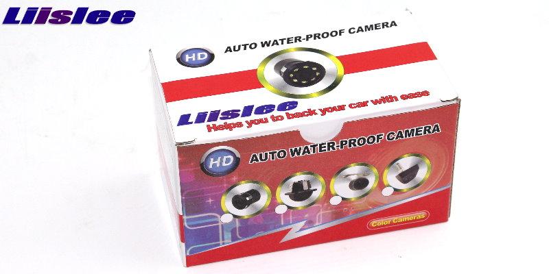 Автомобильная камера заднего вида для Audi A3/S3 2013~, высокое качество, LiisLee, задняя камера заднего вида, водонепроницаемая, CCD, камера ночного видения, автомобильная камера