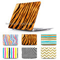 BTD Unique Tiger Stripes Sleeve Shell for Hard Case Apple Macbook air 11 12 13  inch Mac pro 13 15.4 Retina display Clear Cover