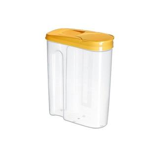 Image 5 - פלסטיק מתקן אחסון קופסות שימור מטבח מזון גרגרים אורז סיר מיכל מטבח אורז אחסון תיבת קמח תבואה אחסון