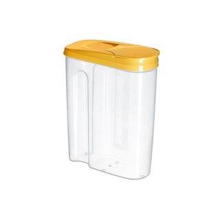 Image 5 - Plastic Dispenser Storage Boxes Preservation Kitchen Food Grain Rice Pot Container Kitchen Rice Storage Box Flour Grain Storage