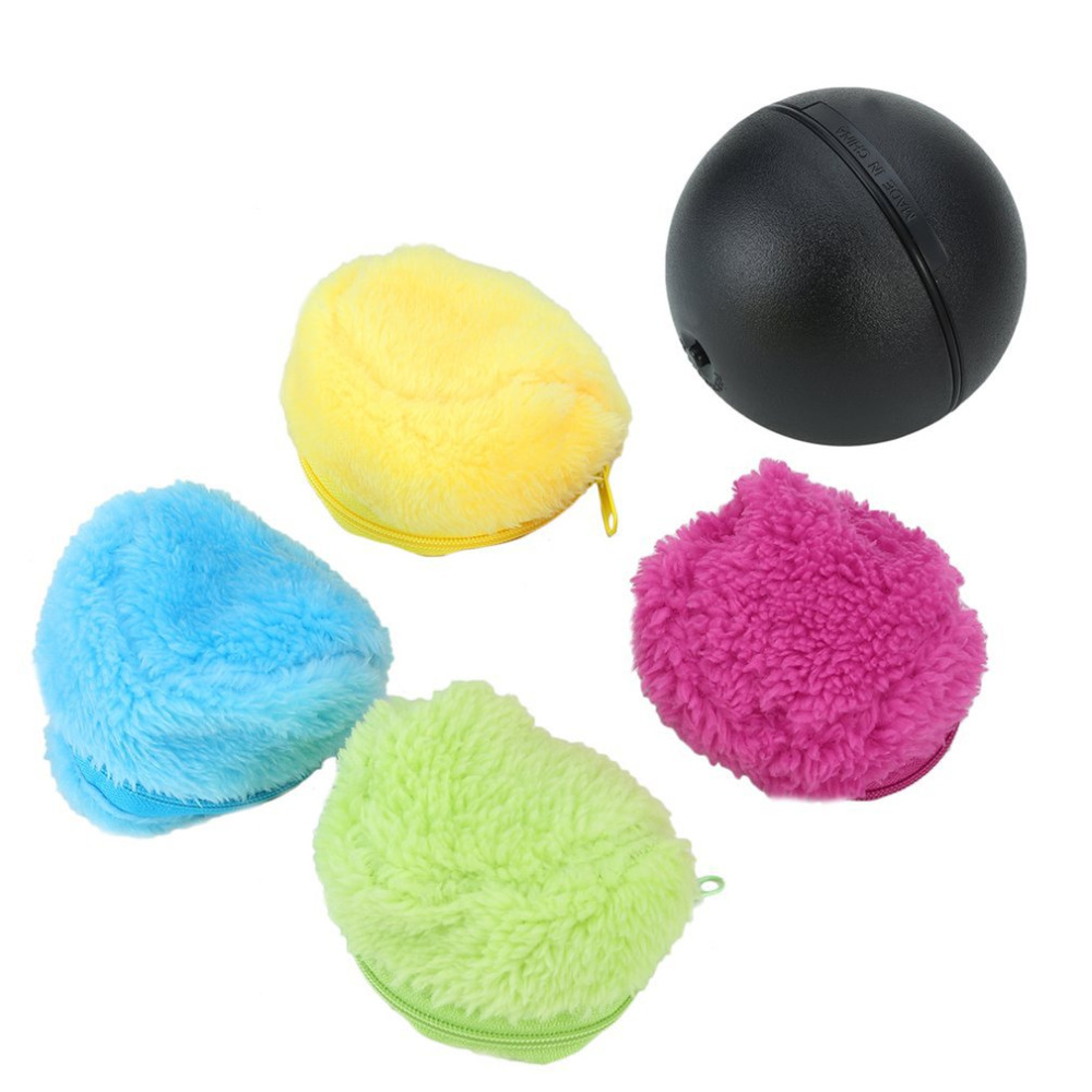 Automatic Rolling Ball Electric Powered Vacuum Dust Cleaner Toy Mocoro Mini Microfiber Robotic Sweeping Floor Mop Household Use