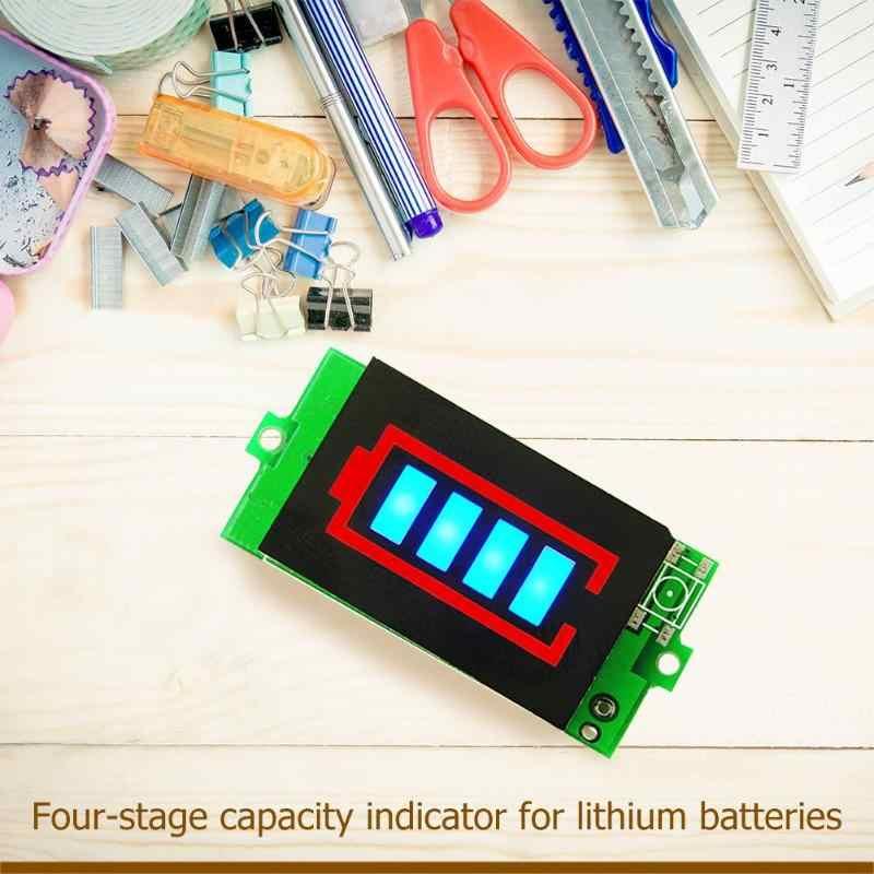 Kiểm Tra pin BMS PCB Ban Bảo Vệ Pin Lithium Đèn Báo Dung Lượng 1 S/3 S