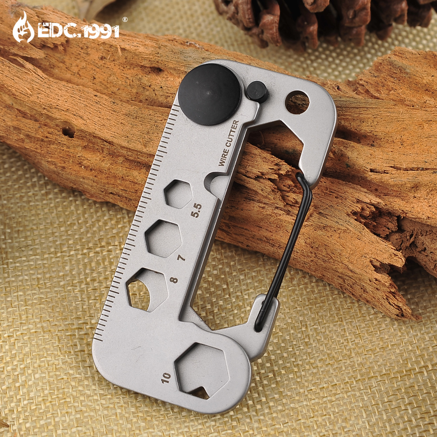 New EDC Gear Multi Tool Pocket Outdoor Camping Survival Kit Wrench Opener Portable Tool Screwdriver Keychain Key Hanging
