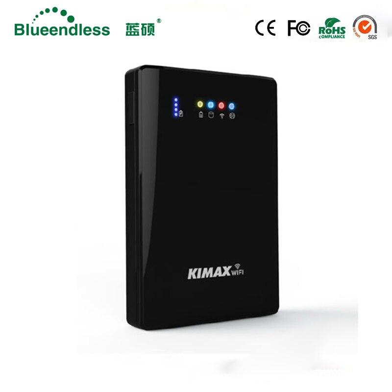 320g/500G750G//1 tb/2 tb Disque dur Externe 1 tb hdd 2.5 Sata vers USB 3.0 Boîtier de disque dur avec Powerbank Routeur Wifi Multifonction