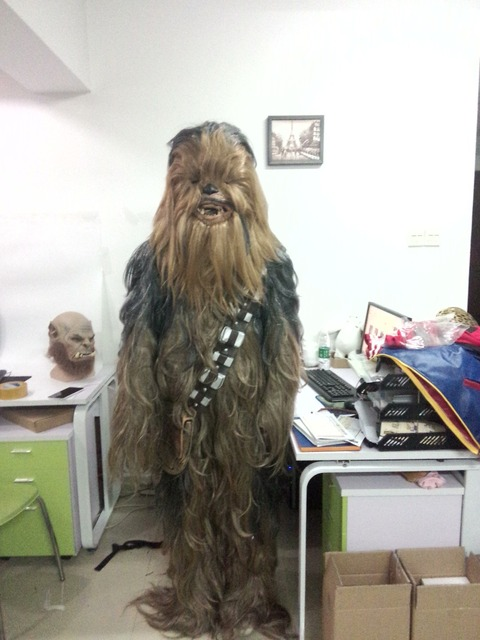 Star Wars Costumes  7 Series Cosplay Chewbacca Halloween Suit Costume 2