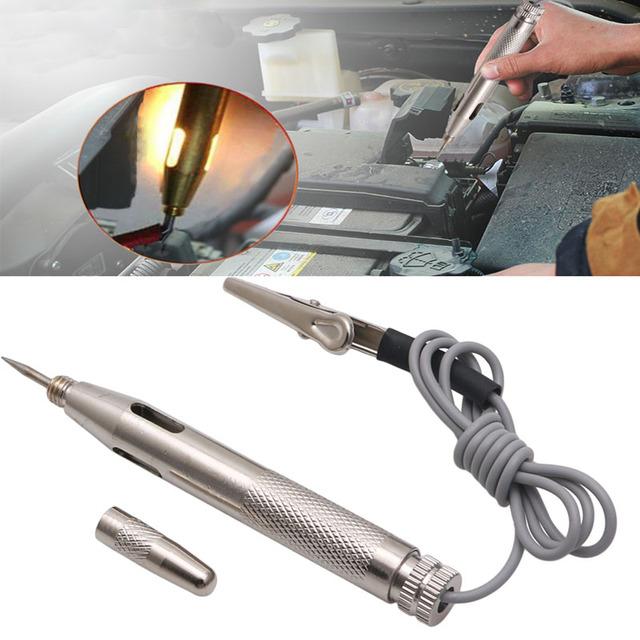 Car Motorcycle Circuit Tester Gauge Voltmeter