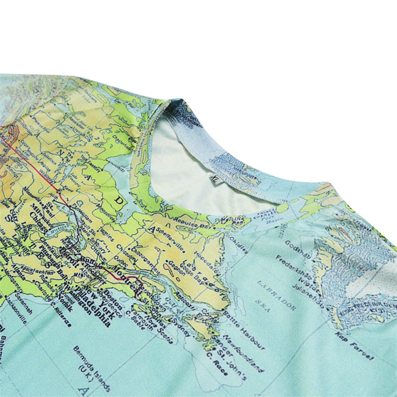 New fashion the world map t shirt printing 3d t shirt harajuku new fashion the world map t shirt printing 3d t shirt harajuku outfit tees top summer style funny graphic t shirt free shipping in t shirts from mens gumiabroncs Image collections