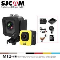 Full Accessories Original SJCAM M10 WiFi Action Camera Diving 30M Waterproof Camera Underwater 1080P Sport Camera