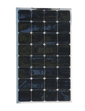 Soarparts 1*100w semi-flexible solar panel module high efficiency solar cell solar panel for boat outdoor camping  solar charger