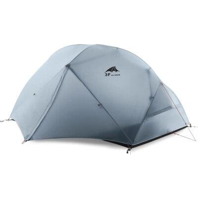 3F extérieure Piaoyun 2 personne 210 T trois saison double couche camping tente