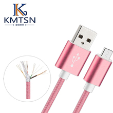 metal braided 1.5 m USB charging line for Android Phone Charge data cable for LeTv samsung galaxy