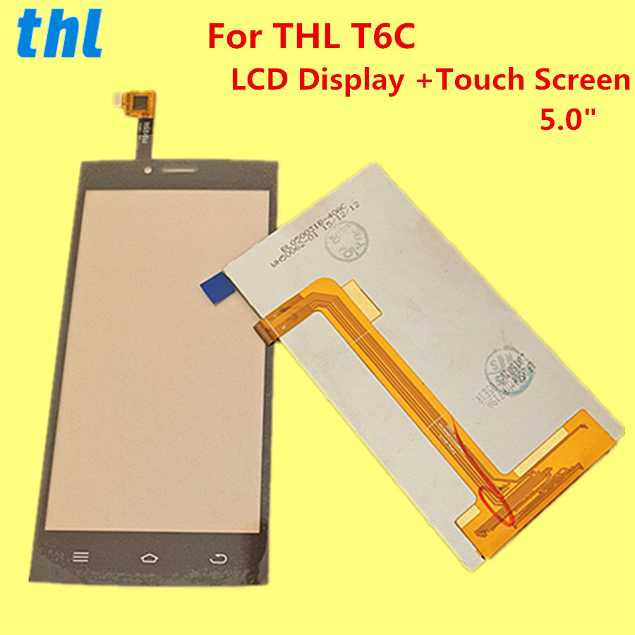 "Image 2 - For THL T6C LCD Display +Touch Screen+ Tools  Digitizer Assembly Replacement Accessories For Phone T6 C  5.0""-in Mobile Phone LCD Screens from Cellphones & Telecommunications"