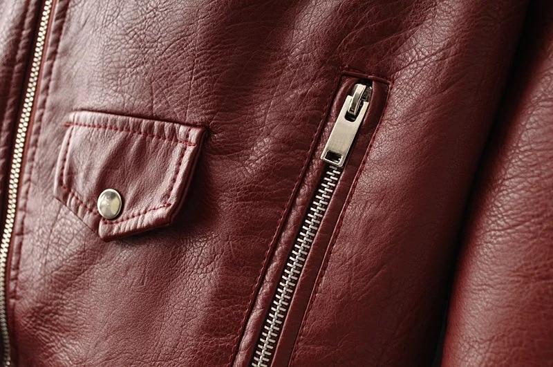 HTB1DBPqbnZRMeJjSspnq6AJdFXaZ Aelegantmis Autumn New Short Faux Soft Leather Jacket Women Fashion Zipper Motorcycle PU Leather Jacket Ladies Basic Street Coat