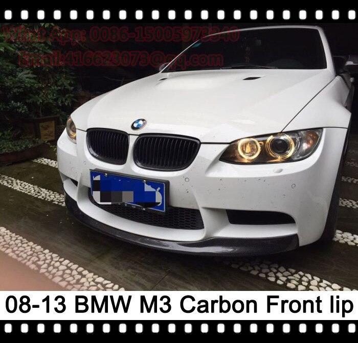 E90 M3 Sedan Front lip E92 M3 Coupe GT4 Front Lip Spoiler E93 M3 F