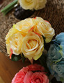 Hot Sale Petite Rose Peony Silk Flowers Bridal Bouquets bridesmaid Wedding Bouquet Flower Decoration