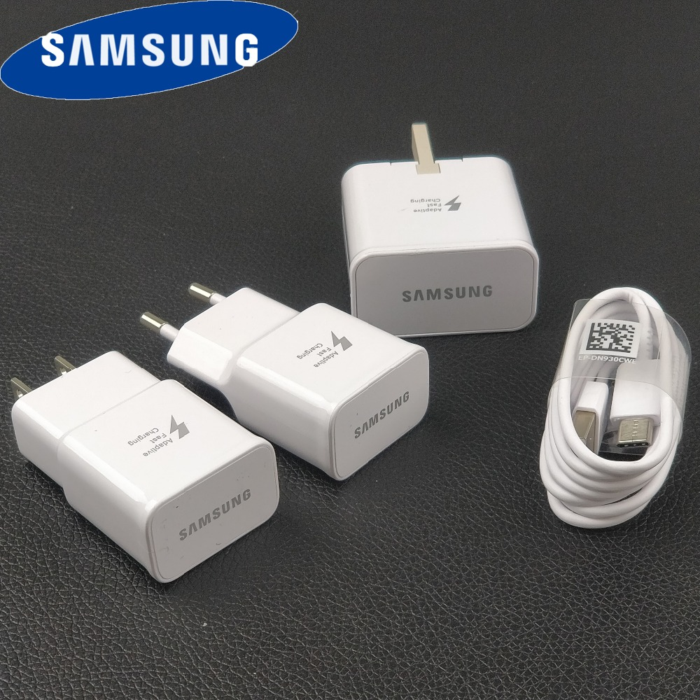 Samsung Fast-Charger AFC A50 S9 A80-Phone Travel S10 Note Quick-Wall Galaxy Original
