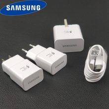 Samsung GALAXY S10 Charger Asli AFC 1.67A Perjalanan Cepat Charge Adaptor Usb Kabel Tipe C untuk Galaxy A50 80 s10 S9 S8 Note 7 8 9(China)
