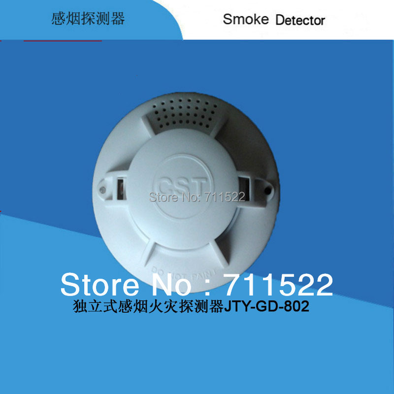 Single smoke alarm  Photoelectric  Battery Optical Smoke Detector with CE DC9V smoke detector battery powered photoelectric smoke alarm independent smoke detector single station type smoke detector