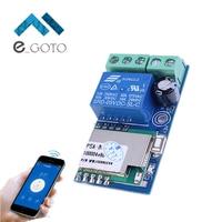 DC 12V Wireless Wifi Relay Switch Module Mobile Phone Remote Control Timer Self Lock 5 2x2