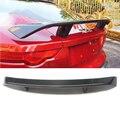 Новый внешний задний спойлер из углеродного волокна задний Багажник крыло для губ украшение подходит для Jaguar F-type спойлер 2014 2015 2016 автомобил...