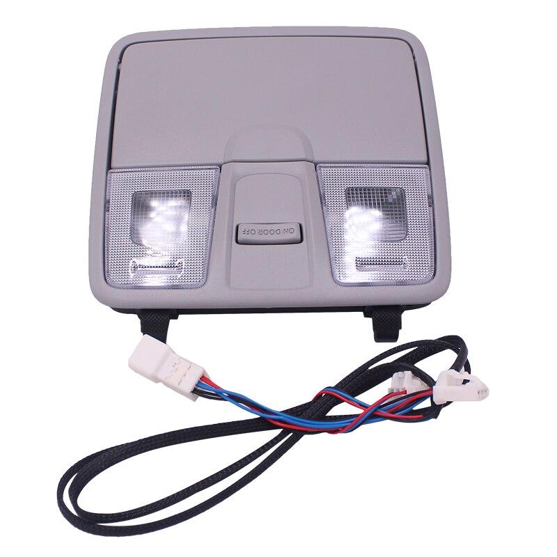 Per HYUNDAI ELANTRA GT/I30/IX25ACCESSORIES2012-2016 OEM Lampada Assy Console In Testa luci di Lettura/luci di mappa /occhiali boxPer HYUNDAI ELANTRA GT/I30/IX25ACCESSORIES2012-2016 OEM Lampada Assy Console In Testa luci di Lettura/luci di mappa /occhiali box