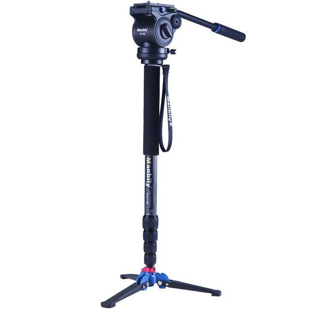 Aluminum Professional Monopod Video Tripod for Camera with Tripods Head