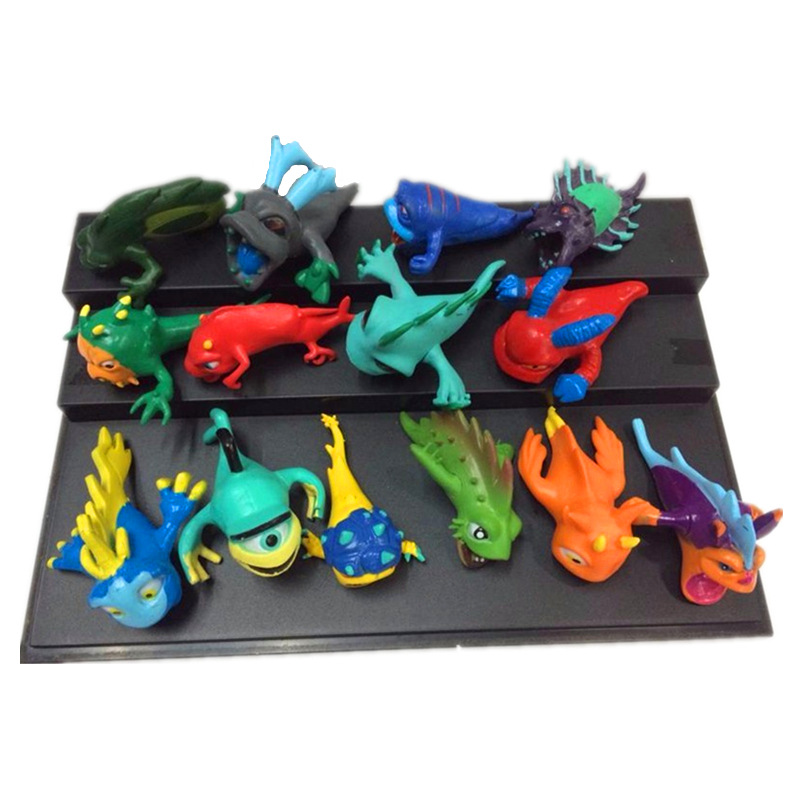 2016 NEW 14PCS/SET 3-7cm Creative Anime Slugterra Model Decoration Action Figures Juguetes Toys Kids Christmas Gift image