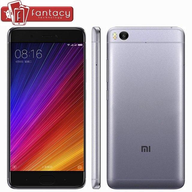 """Оригинал Xiaomi Ми Mi5s 5S Премьер 4 ГБ 128 ГБ Мобильного Телефона Snapdragon 821 Quad Core Отпечатков Пальцев ID FDD 4 Г 12MP 5.15 """"1080 P MIUI NFC"""