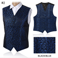 2016 New Arrival Quality Vests For Men Slim Fit Mens Suit Vest Male Waistcoat Gilet Homme Casual Sleeveless Formal Business