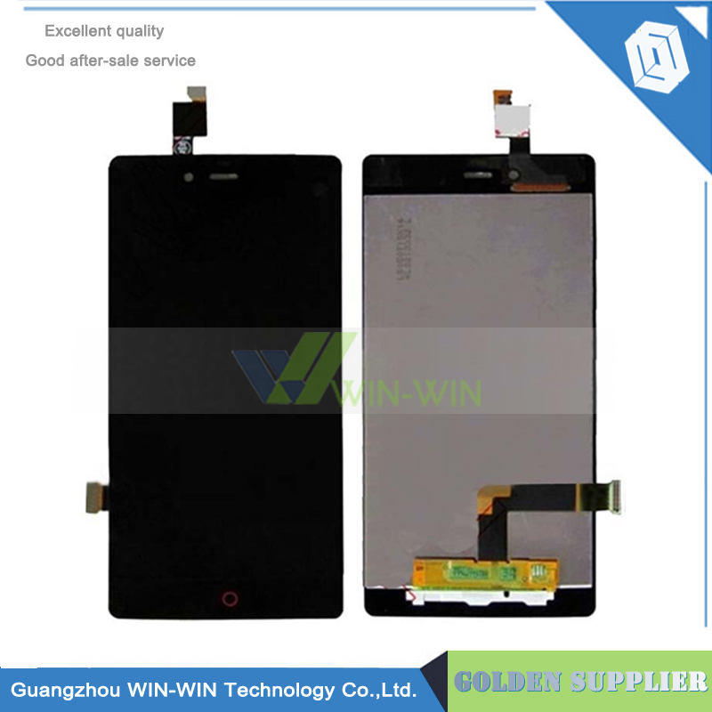 ФОТО Top LCD Display+ Touch Screen For ZTE Nubia Z9 mini Touch Panel Digitizer Glass For ZTE Z9 mini NX511J 1920x1080 FHD 5.0''